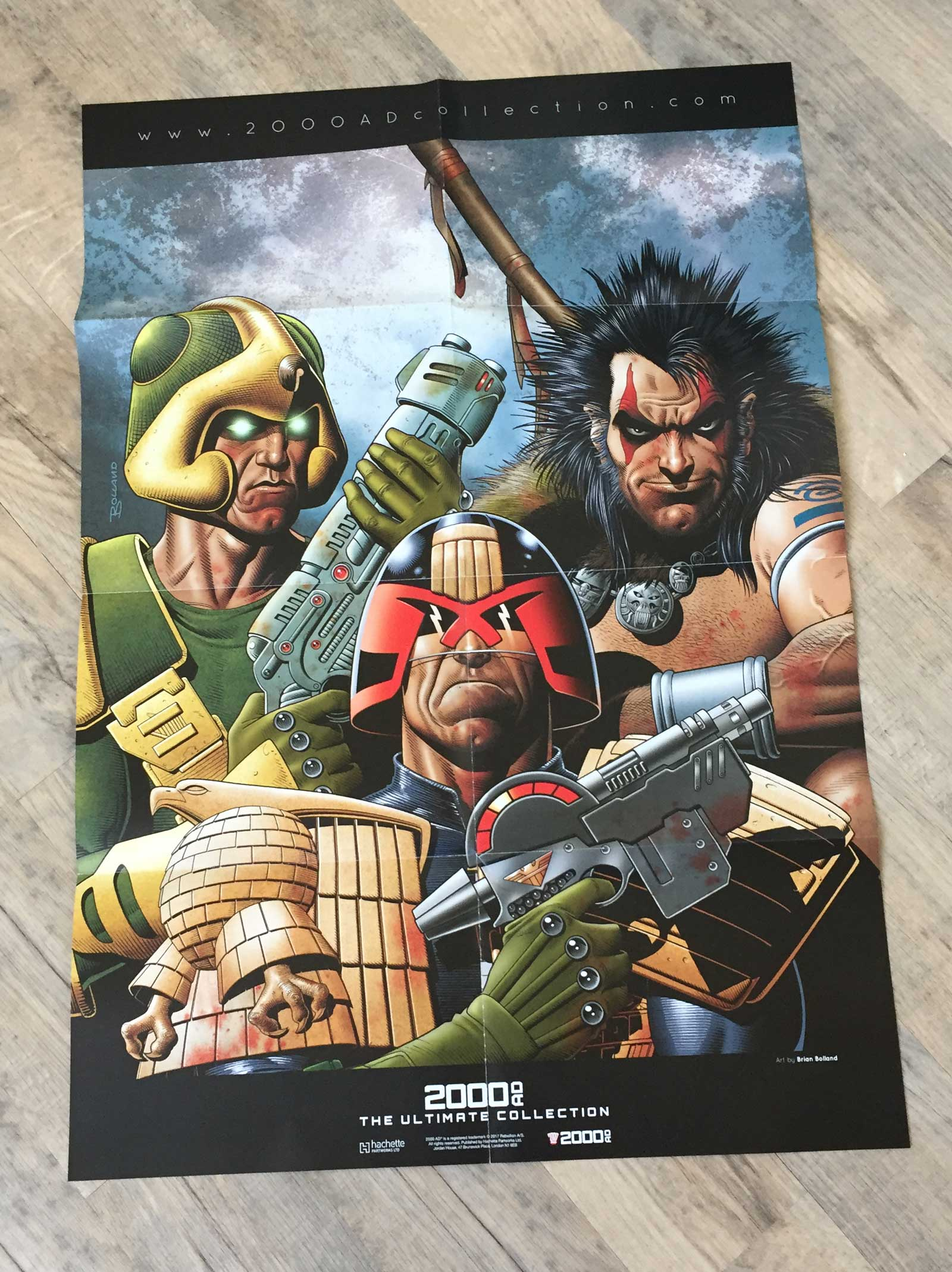 2000AD - The Ultimate Collection Issue One - Poster