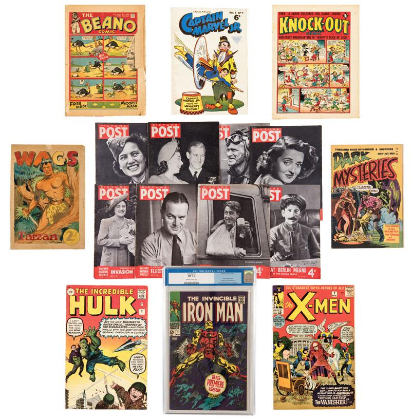 ComPal Comics Auction - September 2017