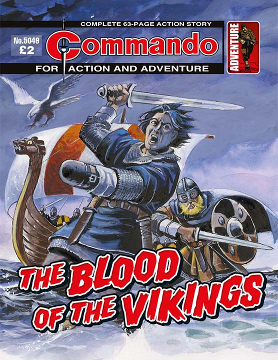 Commando 5049: Action and Adventure: The Blood of the Vikings
