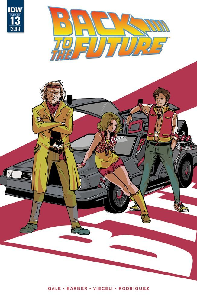 Back to the Future #13 - Cover