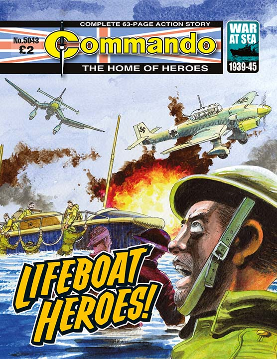 Commando 5043: Home of Heroes: Lifeboat Heroes