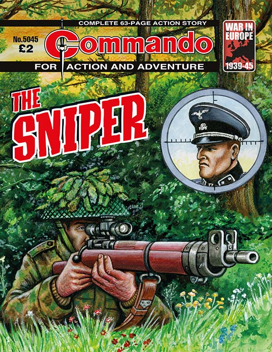 Commando 5045: Action and Adventure: The Sniper
