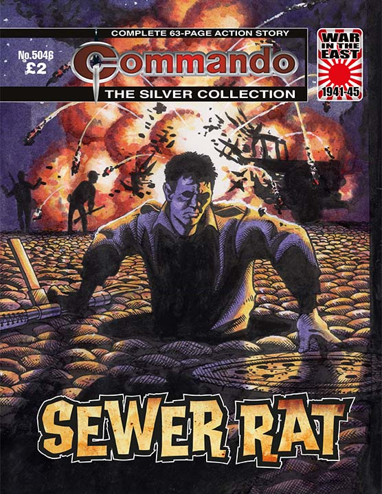Commando 5046: Silver Collection: Sewer Rat
