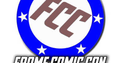 Frome Comic Con Logo