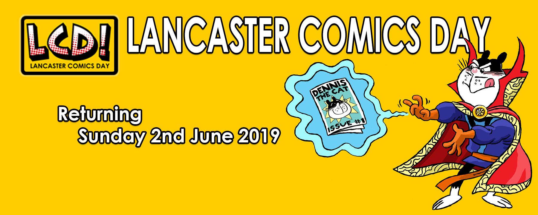 Lancaster Comics Day 2019