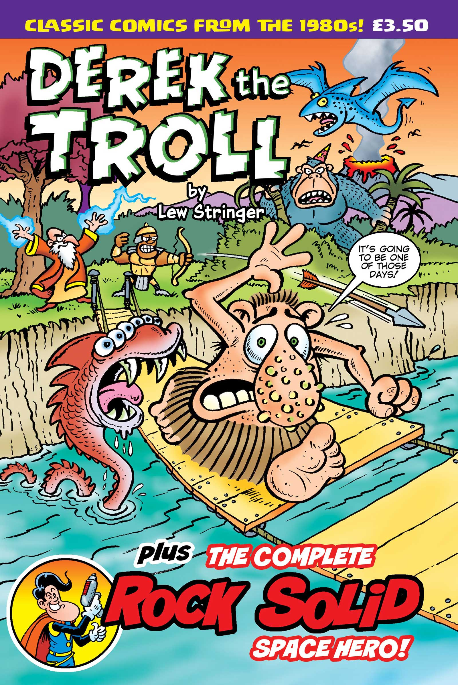 Derek the Troll by Lew Stringer