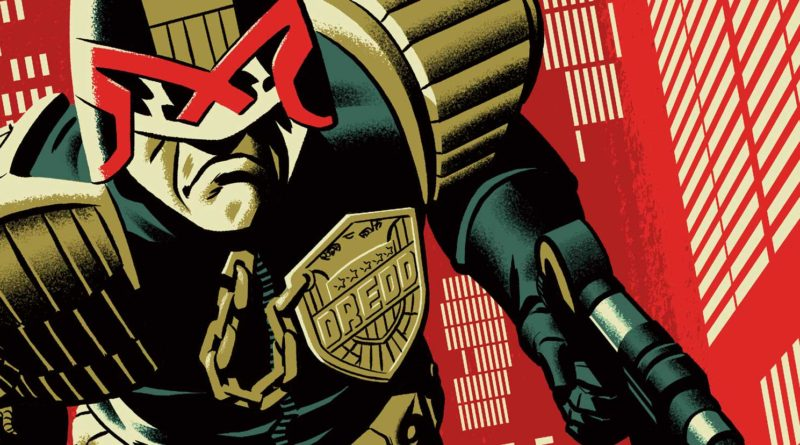 Zarjaz - Judge Dredd by Michael Cho (Regular) SNIP