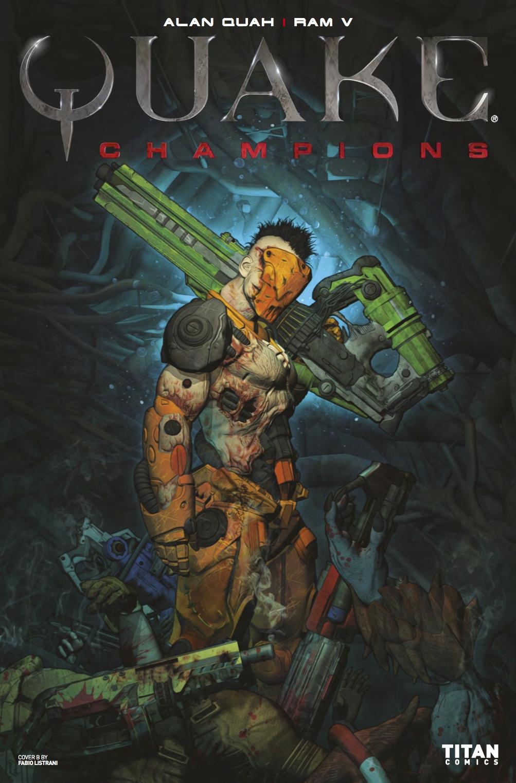 Quake Champions #1 - Cover B by Fabio Listrani
