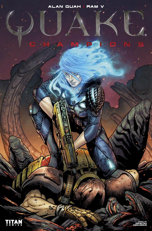 Quake Champions #1 - Cover D - Tazio Bettin