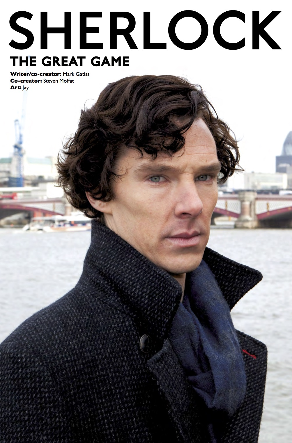 Sherlock: The Great Game #1 - Cover B