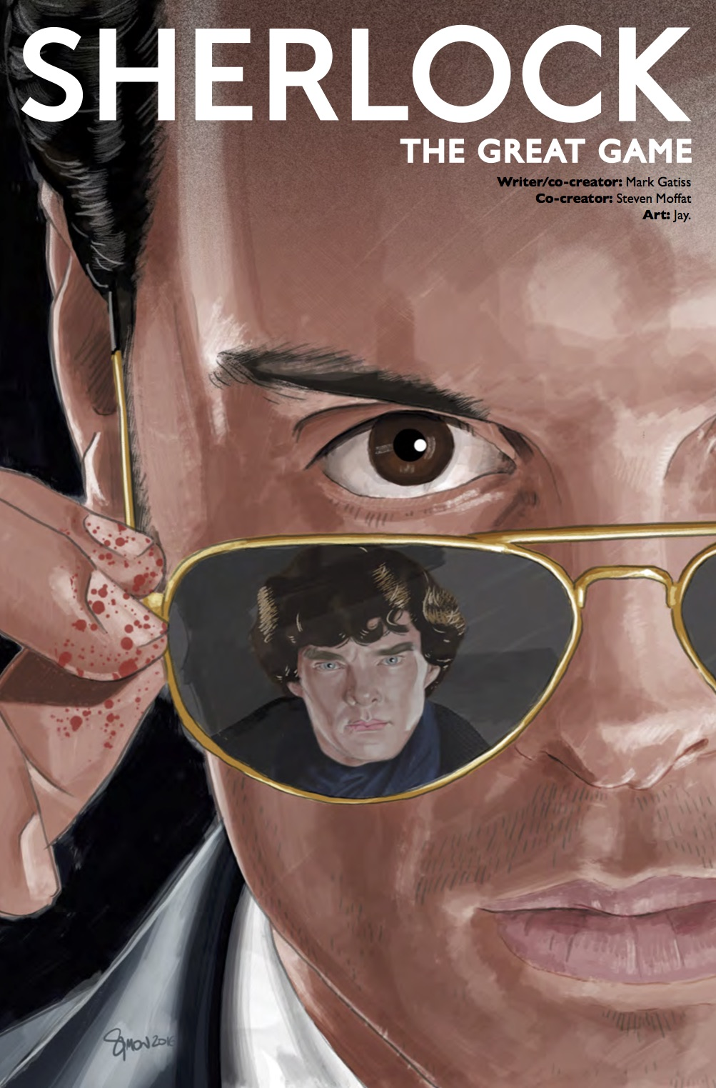 Sherlock: The Great Game #1 - Cover D