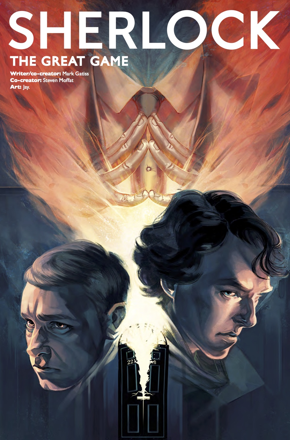 Sherlock: The Great Game #1 - Cover E