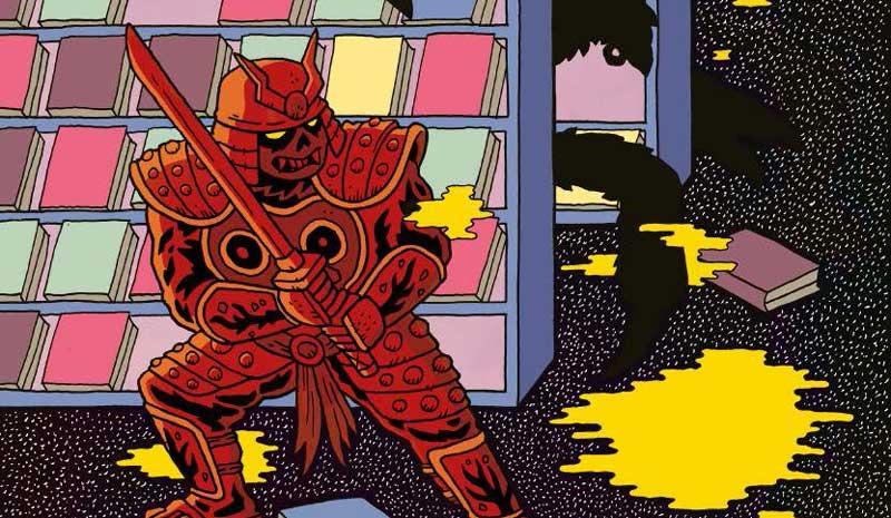 Samurai Slasher - Late Fees - Sample Art SNIP