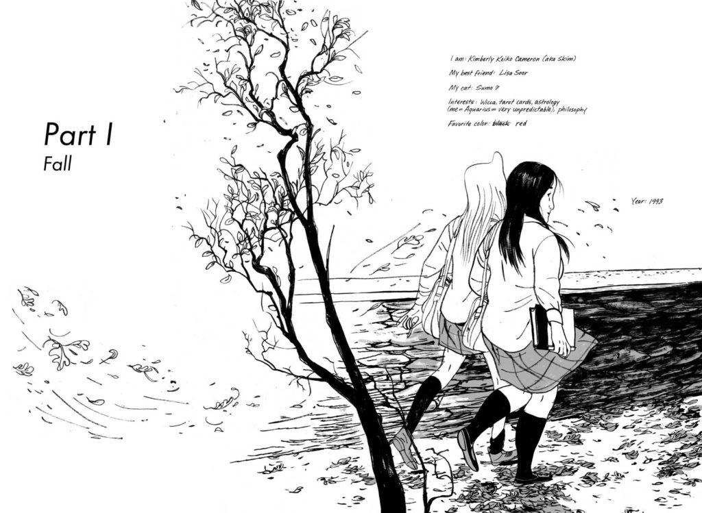 Skim by Mariko and Jillian Tamaki - Sample Art