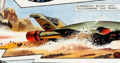 TV21 146 - Thunderbirds by Frank Bellamy SNIP