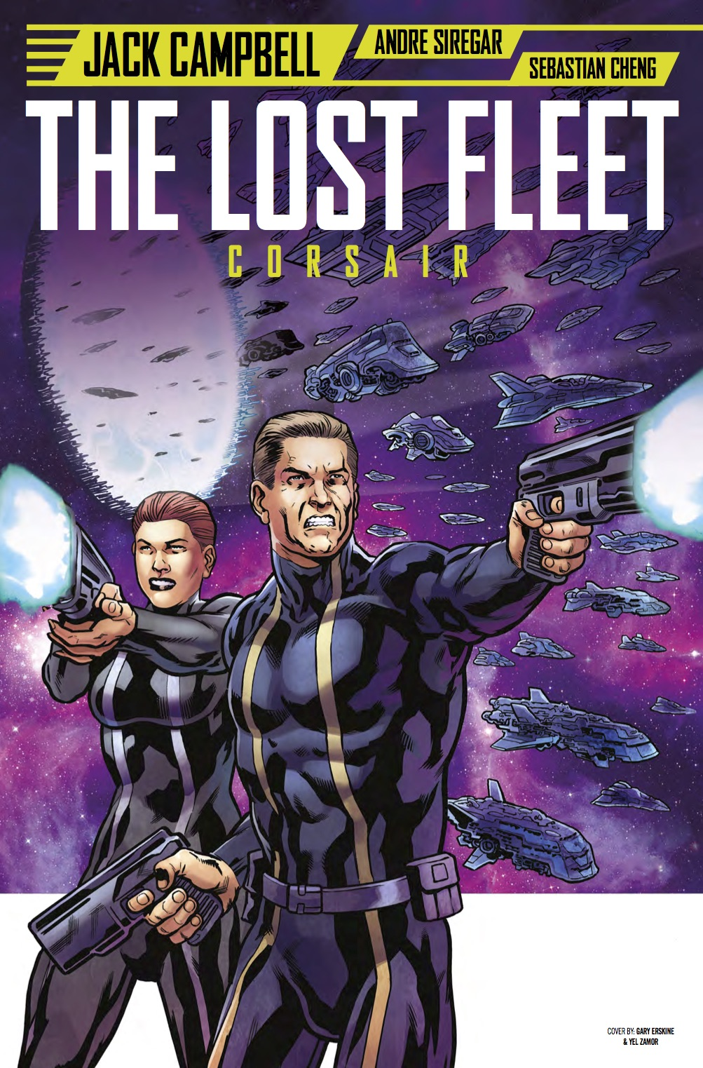 The Lost Fleet #3 Cover C - Gary Erskine