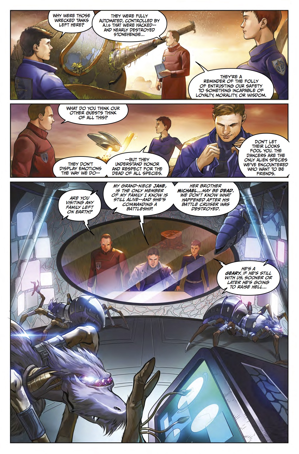 The Lost Fleet #3 Page 2
