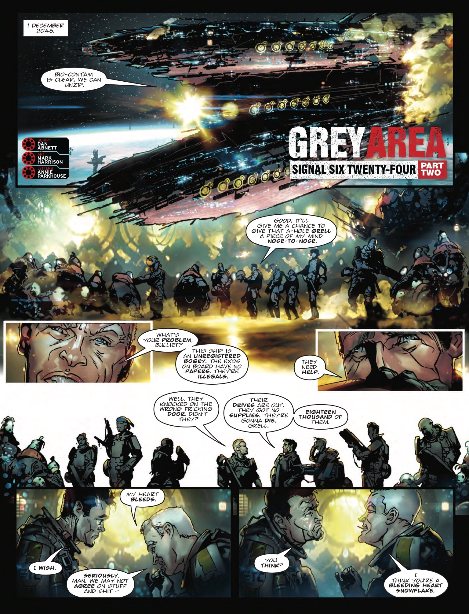 2000AD Prog 2044 - Grey Area