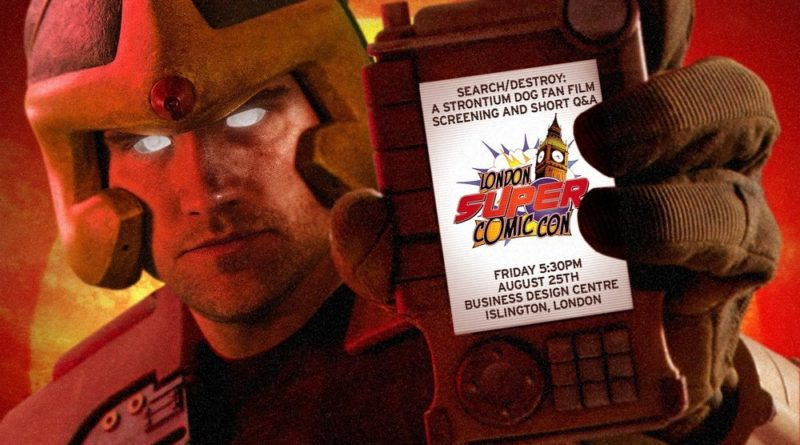 Search/Destroy: A Strontium Dog Fan Film LFCC Promo