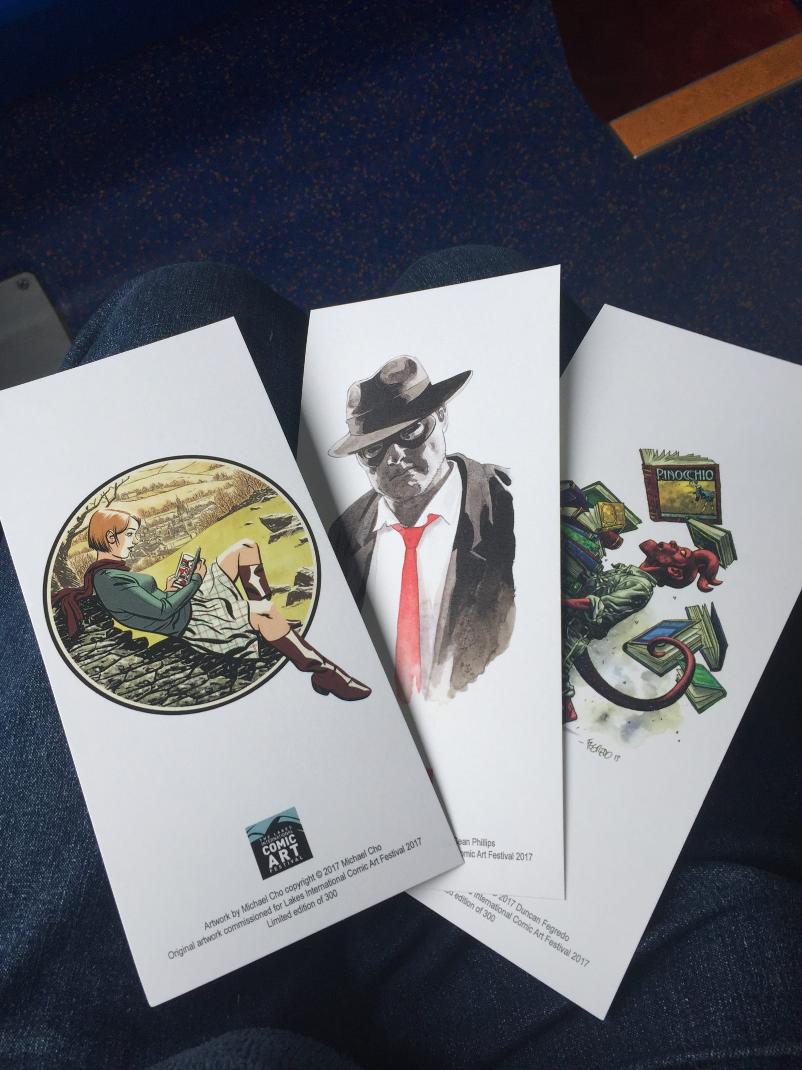 Lakes International Comic Art Festival Goodie Bag 2017 - Art Cards