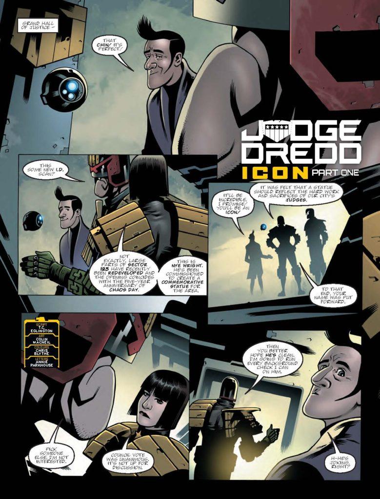 2000AD Prog 2050 - Judge Dredd
