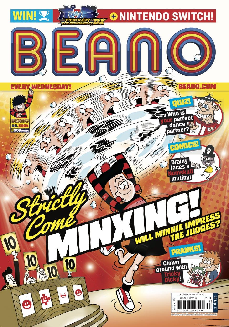 Beano 3904 - Cover