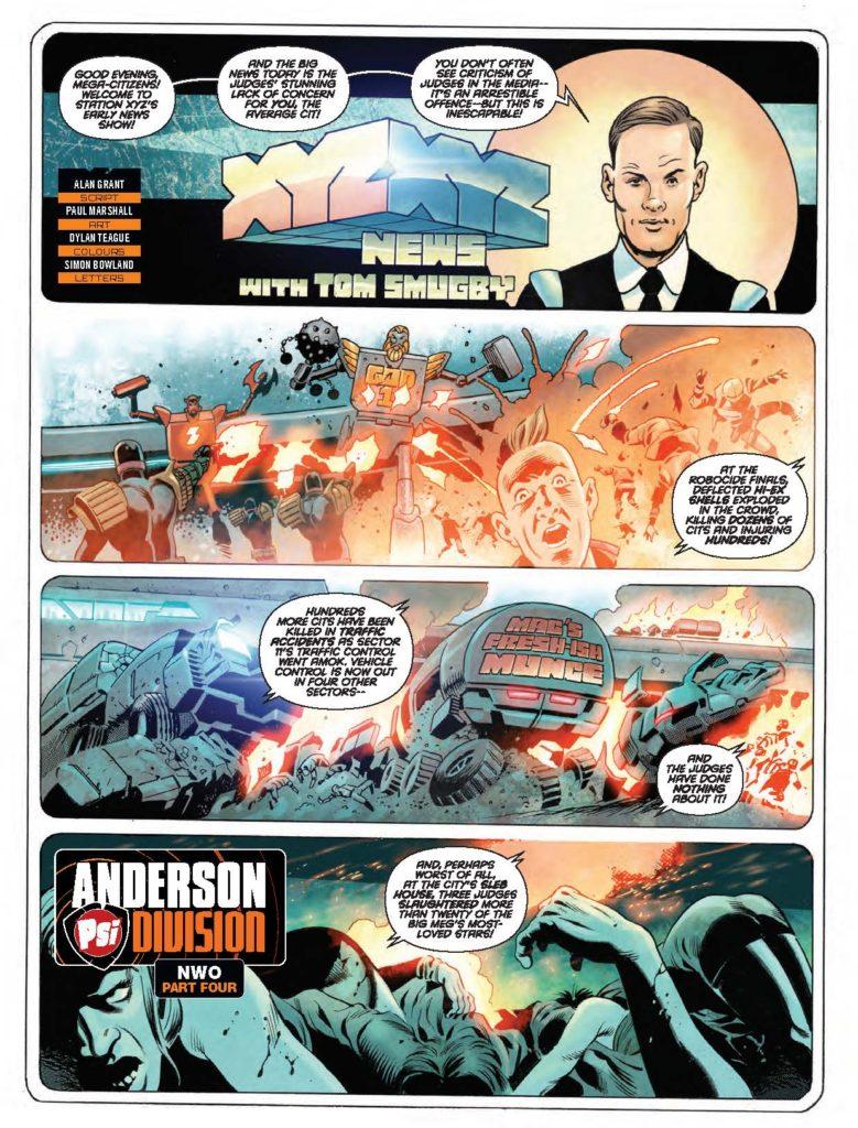 Judge Dredd Megazine388 - Anderson NWO