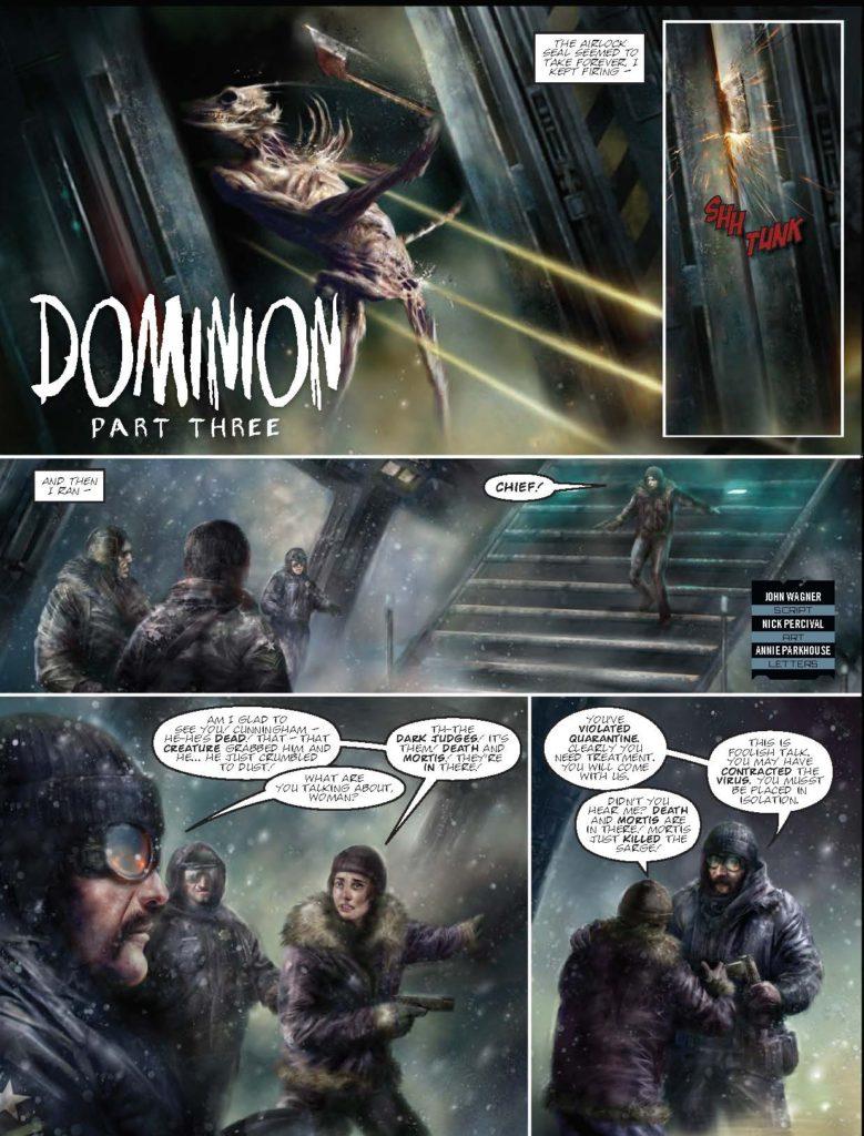 Judge Dredd Megazine388 - Dominion