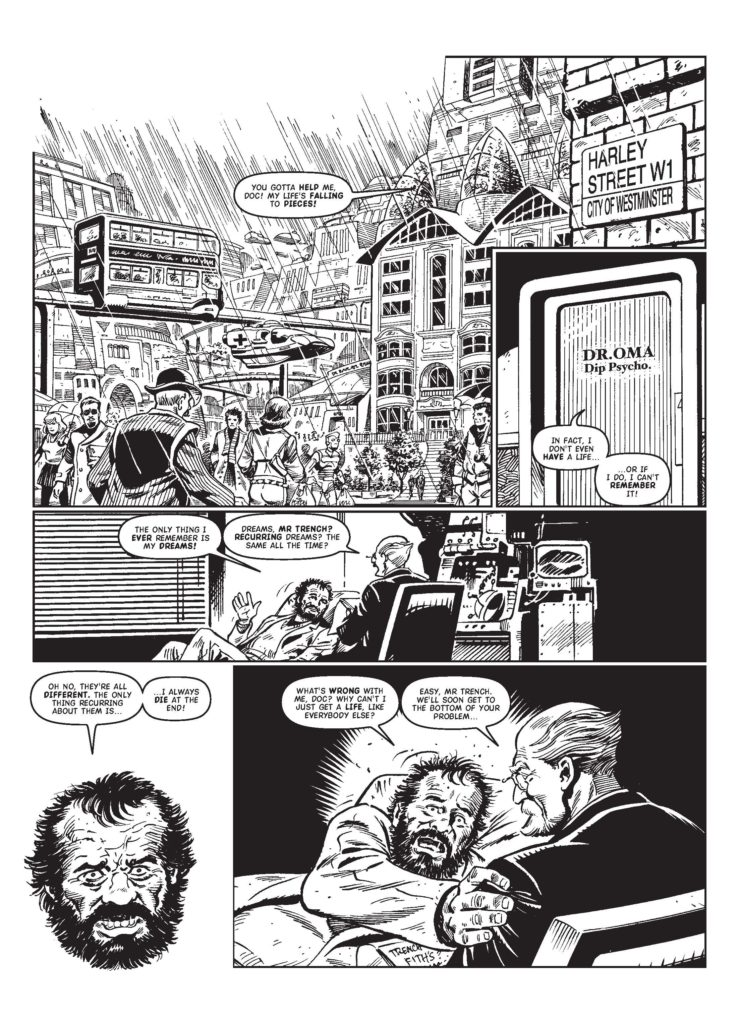 Judge Dredd Megazine 388 - Whatever happened to? - Alec Trench (Part 1)