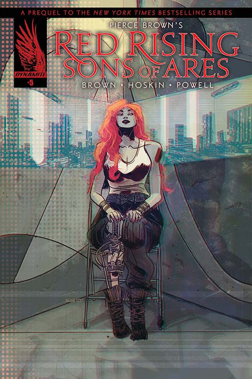 Red Rising - Son of Ares #5 - Cover A by Toby Cypress