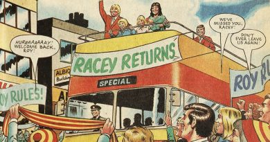 Roy of the Rovers - Racey Returns