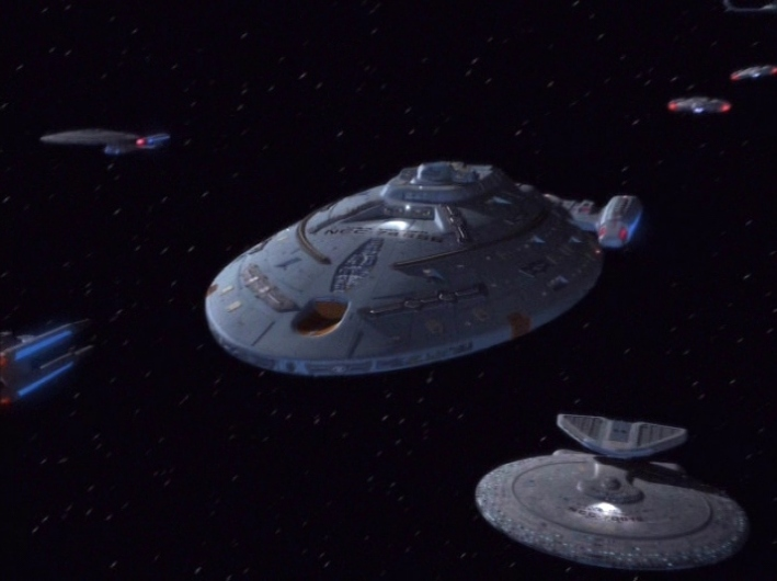 "Star Trek: Voyager's finale, ""Endgame"", is a popular Netflix viewing choice among fans worldwide. Image: CBS"