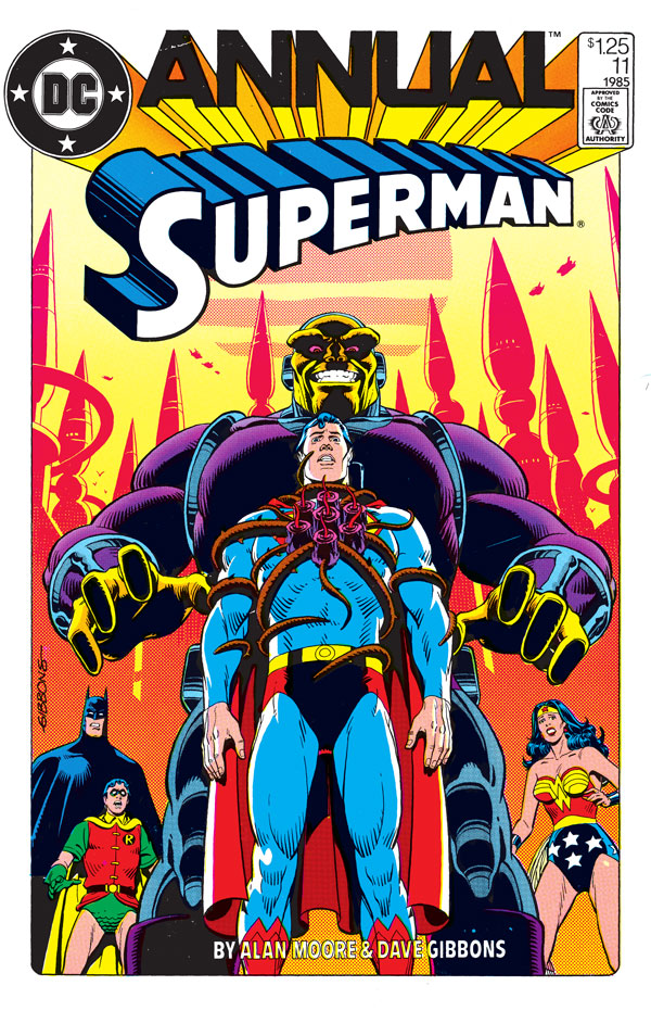 """Superman Annual #11, featuring the story """"Whatever Happened to the Man of Tomorrow?"""""""