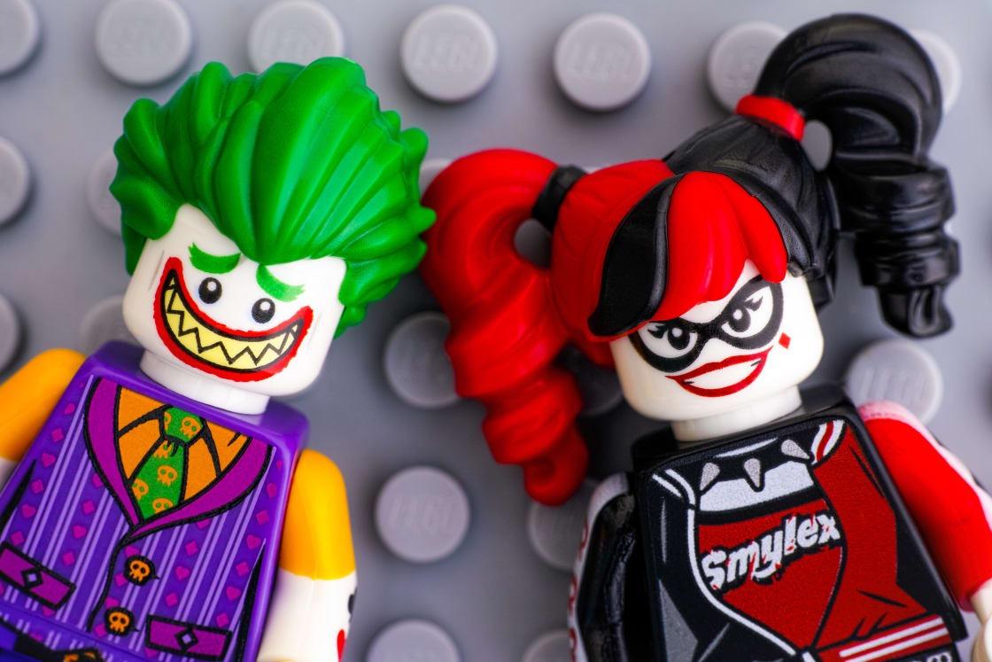 Joker and Harley Quinn LEGO