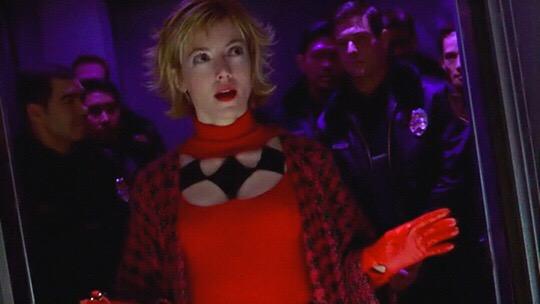 Mia Sara as Dr. Harleen Quinzel in Birds of Prey