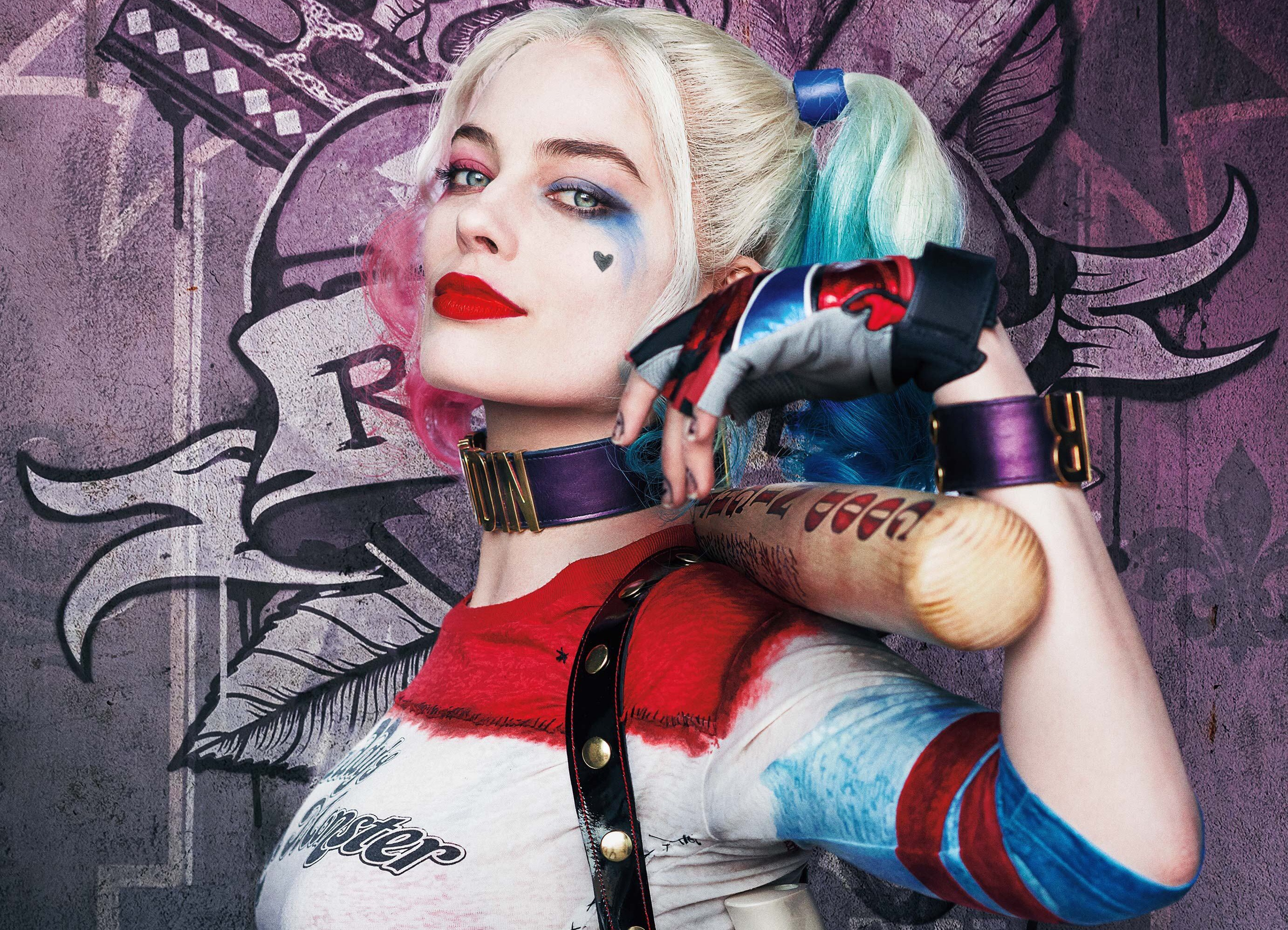 Margot Robbie portrayed Harleen Quinzel / Harley Quinn in the Suicide Squad film