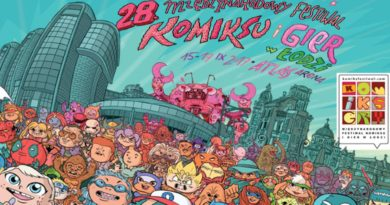 28th International Festival of Comics and Games Banner