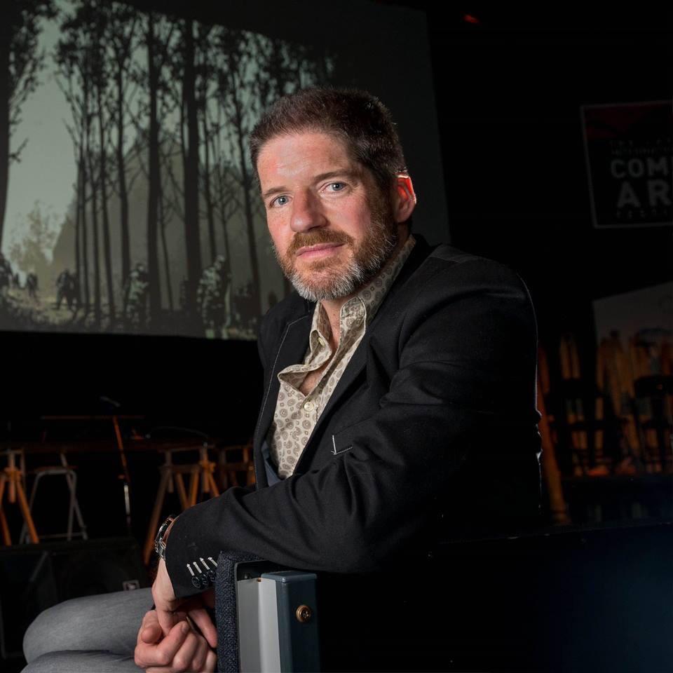 Comics Laureate Charlie Adlard