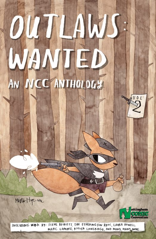 Outlaws: Wanted Anthology Comic 2017 Cover