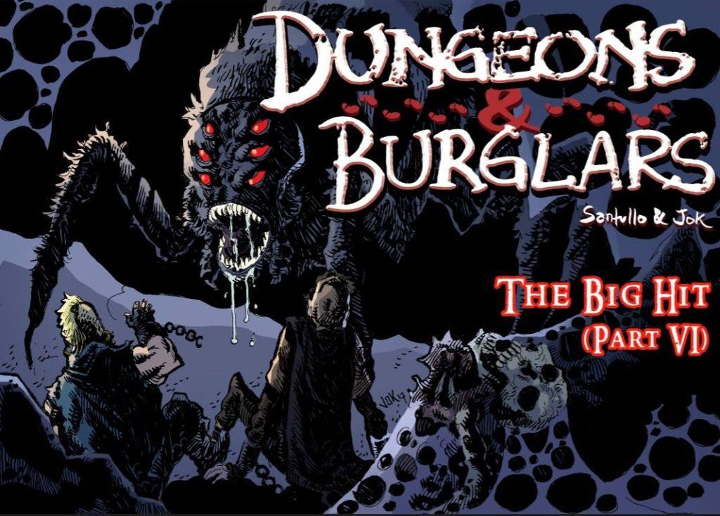 """Dungeons and Burglars"" © Jok LP and Rodolfo Santullo"