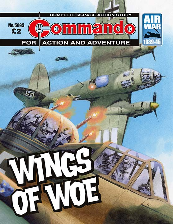 Commando 5065: Action and Adventure - Wings of Woe