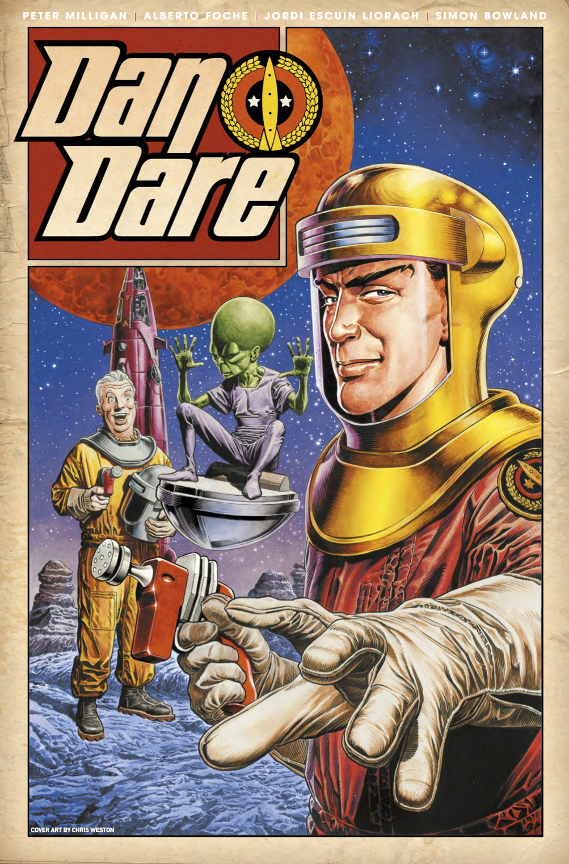 Dan Dare #1 Cover C by Chris Weston