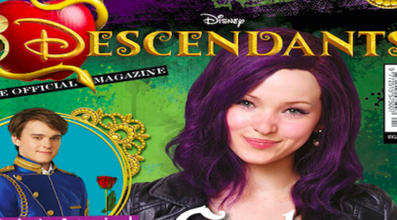 Disney Descendants magazine #1 SNIP