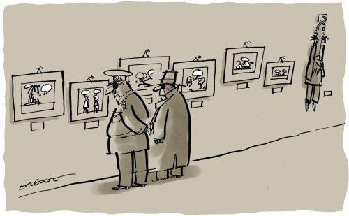 Cartoon by © Pete Dredge