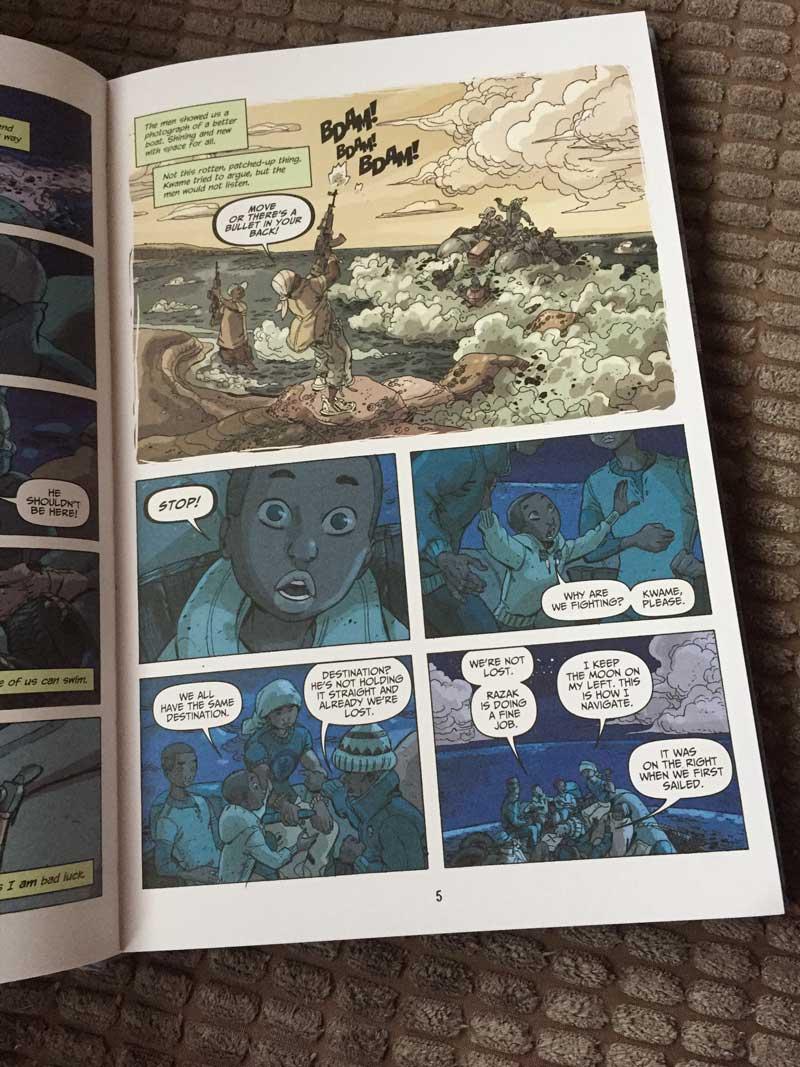 Illegal Graphic Novel - Sample Art