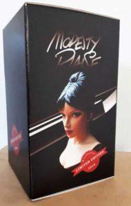 Modesty Blaise Statue - ComicArtDK 2016 Box