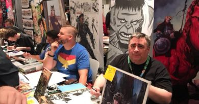 New York Comic Con Day 1 - Brent Schoonover and Marc Laming