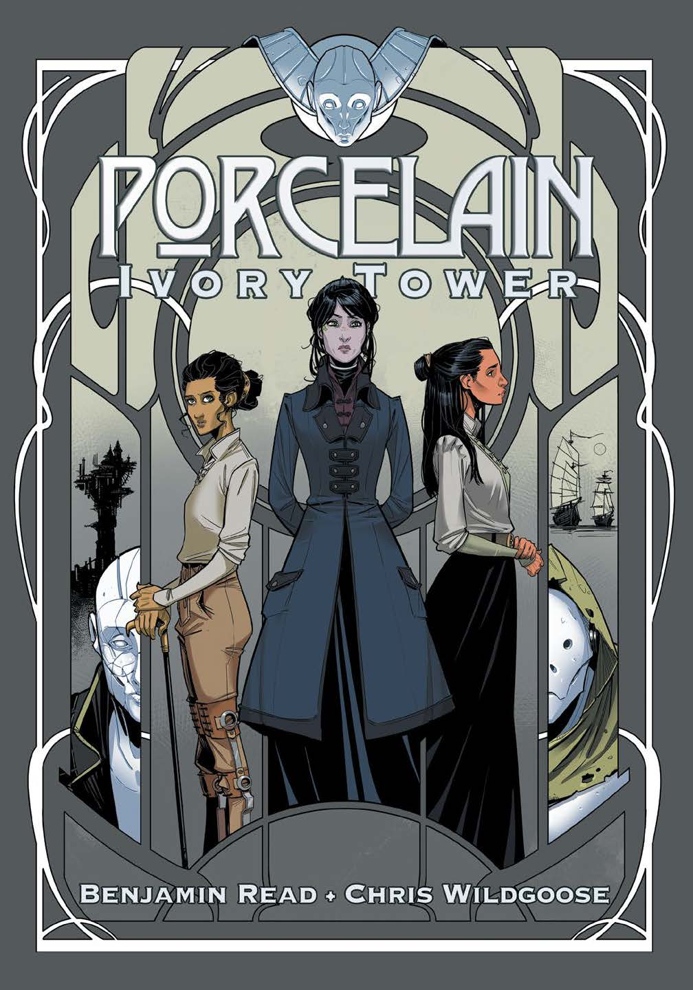 Porcelain - Ivory Tower - Cover