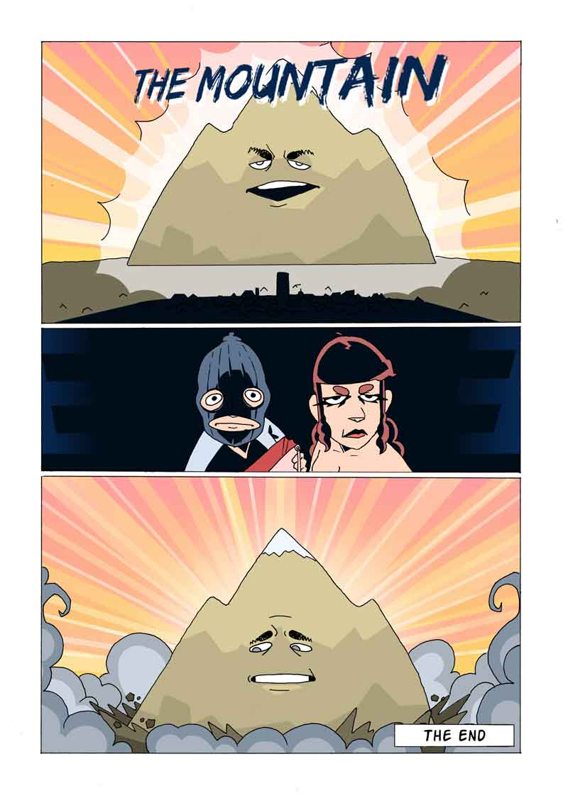 The Mountain by Miles Burchell and Elan McCausland Page 4