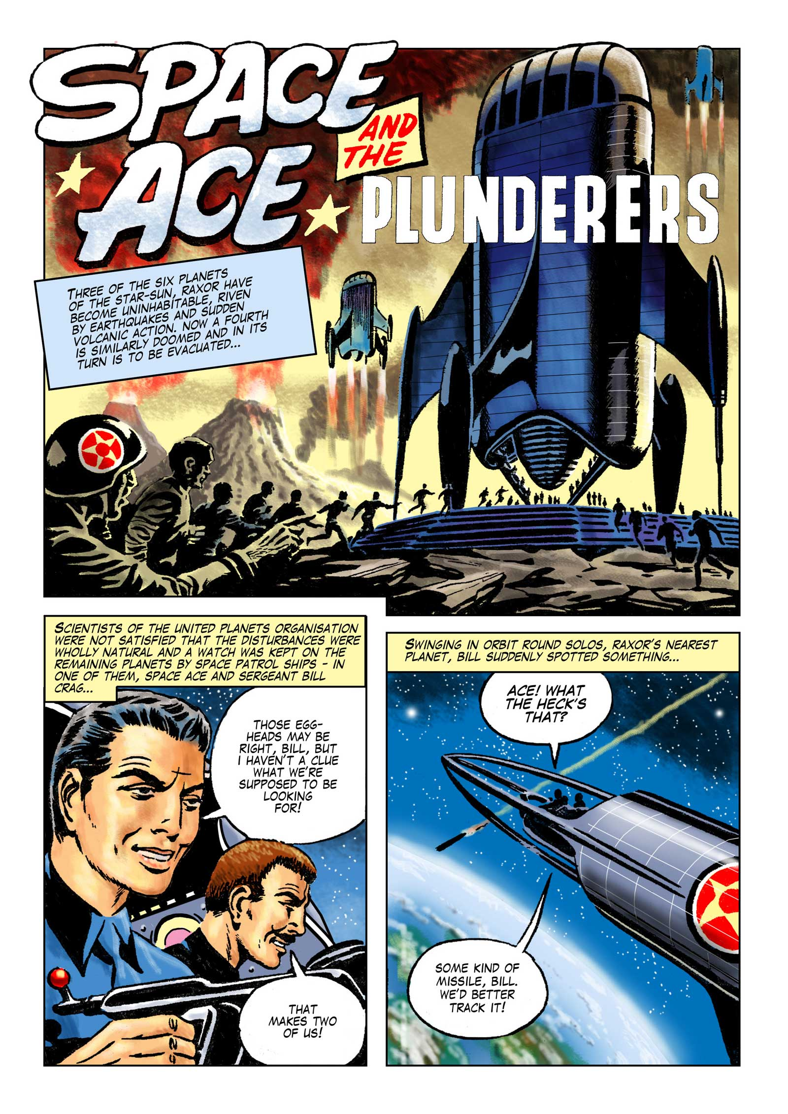Space Ace Volume 9 - The Plunderers